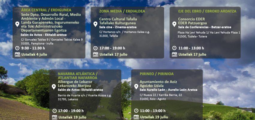 JORNADAS PROCESO DE PARTICIPACION INFRAESTRUCTURA VERDE EN NAVARRA