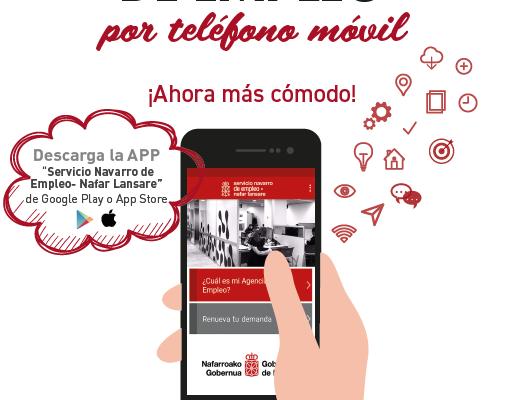 LA APLICACION MOVIL DEL SNE PARA RENOVAR LA DEMANDA DE EMPLEO TAMBIEN ESTA DISPONIBLE EN iOS