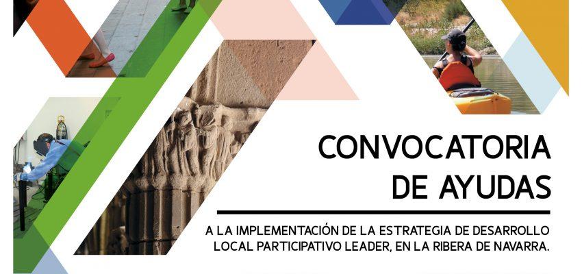 AYER SE PUBLICÓ EN EL BON Nº 185 DE 24 DE SEPTIEMBRE LAS BASES REGULADORAS Y CONVOCATORIA DE AYUDAS 2018 EN LA RIBERA DE NAVARRA PARA LA IMPLEMENTACIÓN DE LA ESTRATEGIA DE DESARROLLO LOCAL PARTICIPATIVO (LEADER) EN EL MARCO DEL PROGRAMA DE DESARROLLO RURAL DE NAVARRA 2014-2020 (M19.02.01. IMPLEMENTACIÓN DE LA EDLP: PROMOTORES PÚBLICOS Y PRIVADOS) PARA EL EJERCICIO 2020″