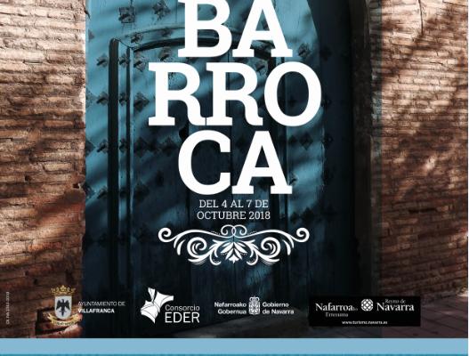 JORNADAS DEL BARROCO EN VILLAFRANCA. 5,6 Y 7 DE OCTUBRE.