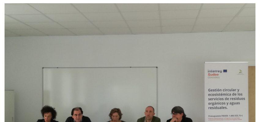 PRESENTACIÓN DEL PROYECTO CEMOWAS2 EN PERALTA