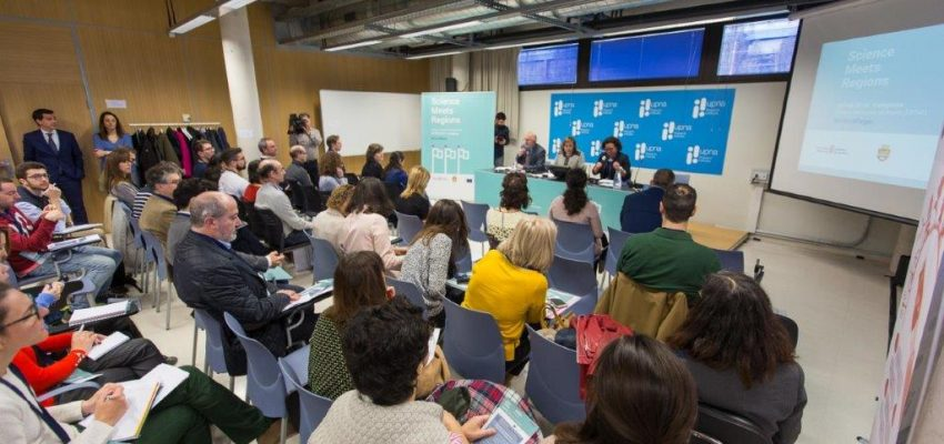 """Consorcio EDER participa en el """"Science meets Regions"""", organizado por Gobierno de Navarra junto con la Comisión Europea, con la vocación de acercar la ciencia a la ciudadanía"""