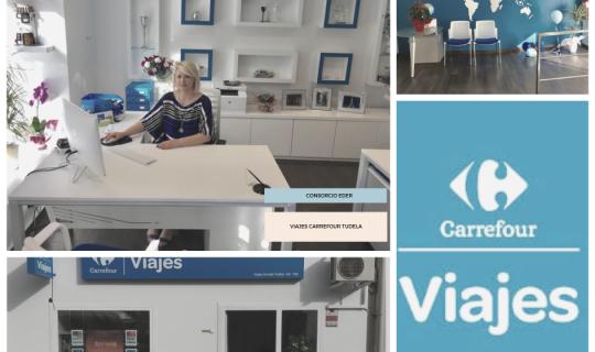 Aurelia ha abierto la agencia de viajes Carrefour en Tudela