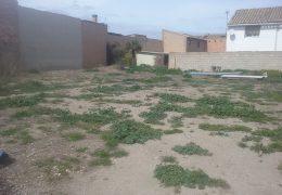 Ejecución de un parque en la calle Ramirez Figueras, 36 de Buñuel