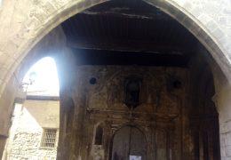 Rehabilitación y puesta en valor para actividades culturales de la puerta del portal de la catedral de Tudela