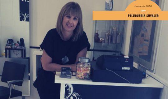 Susana Zapata ha abierto una peluquería mixta en Tudela