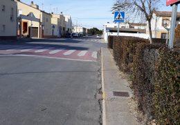 Carril bici en la avenida de la diputación