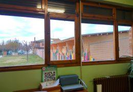 Sustitución de huecos en el colegio público de fustiñana