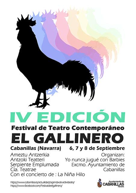 IV Edición EL GALLINERO - Festival de Teatro Contemporáneo