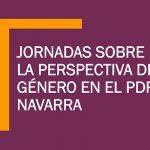 Jornadas sobre la perspectiva de género en el PDR Navarra