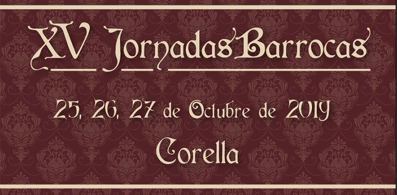 XV Jornadas Barrocas Corella, 25,26 y 27 de Octubre