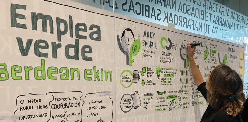 Crónica en imágenes de la Jornada «Emplea Verde»