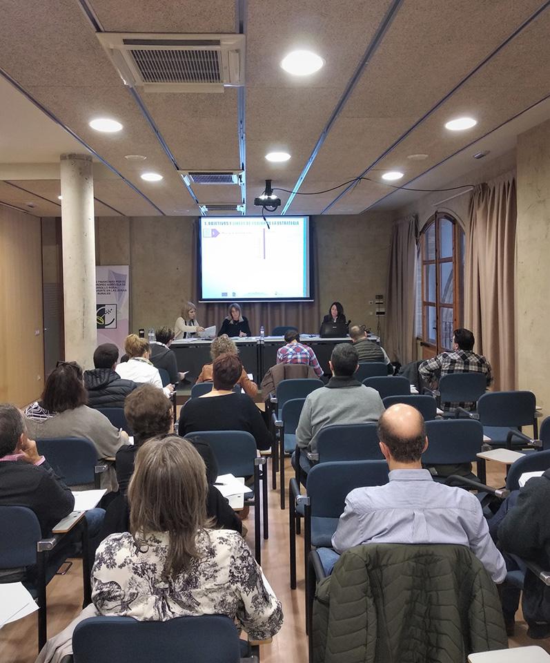 Jornadas técnicas para proyectos no productivos de la 4ª convocatoria de ayudas LEADER - Tudela