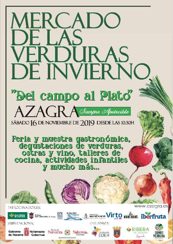Mercado de las verduras de invierno