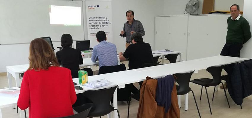 Primer Taller del Proyecto CEMOWAS2 en la sede de Consorcio EDER en Peralta