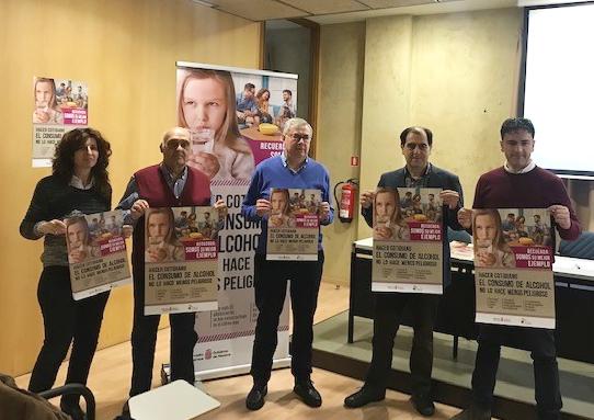 Consorcio EDER presenta el programa de prevención de conductas adictivas en la población joven de la Ribera Navarra