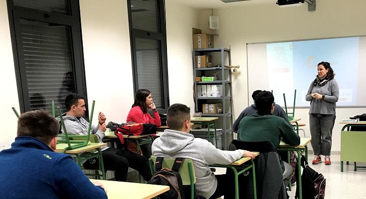 181 estudiantes de FP participan en los talleres de emprendimiento impartidos por Consorcio EDER