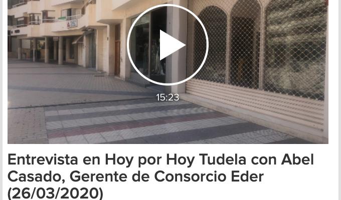 Entrevista de Abel Casado en HoyporHoyTudela