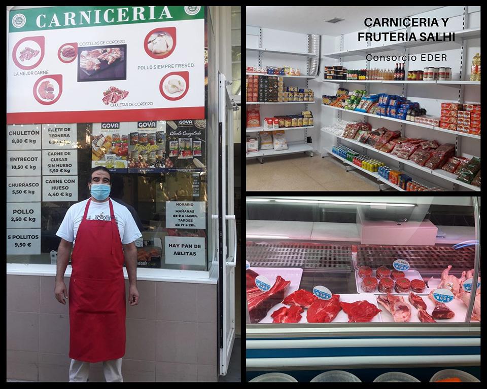 Carnicería y frutería Salhi en Tudela