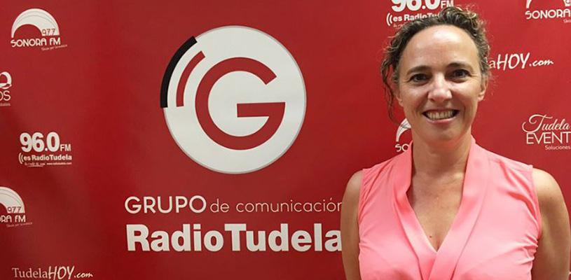 Sandra Calvo nos habla de emprendimiento en Radio Tudela
