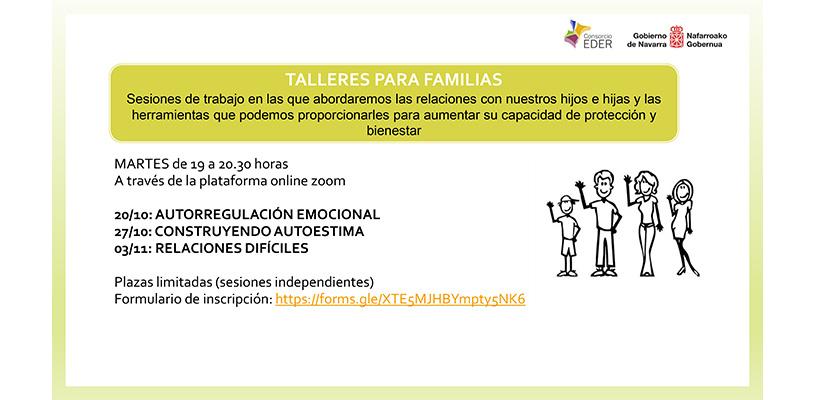TALLERES PARA FAMILIAS