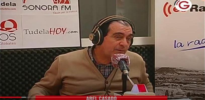 Entrevista de Abel Casado en Radio Tudela: Recursos económicos de los proyectos de Consorcio EDER
