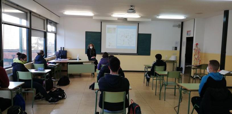 Se retoman los talleres de emprendimiento entre estudiantes de la ETI de Tudela impartidos por Consorcio EDER