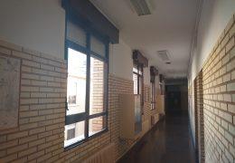 Sustitución de huecos para el colegio de Ribaforada