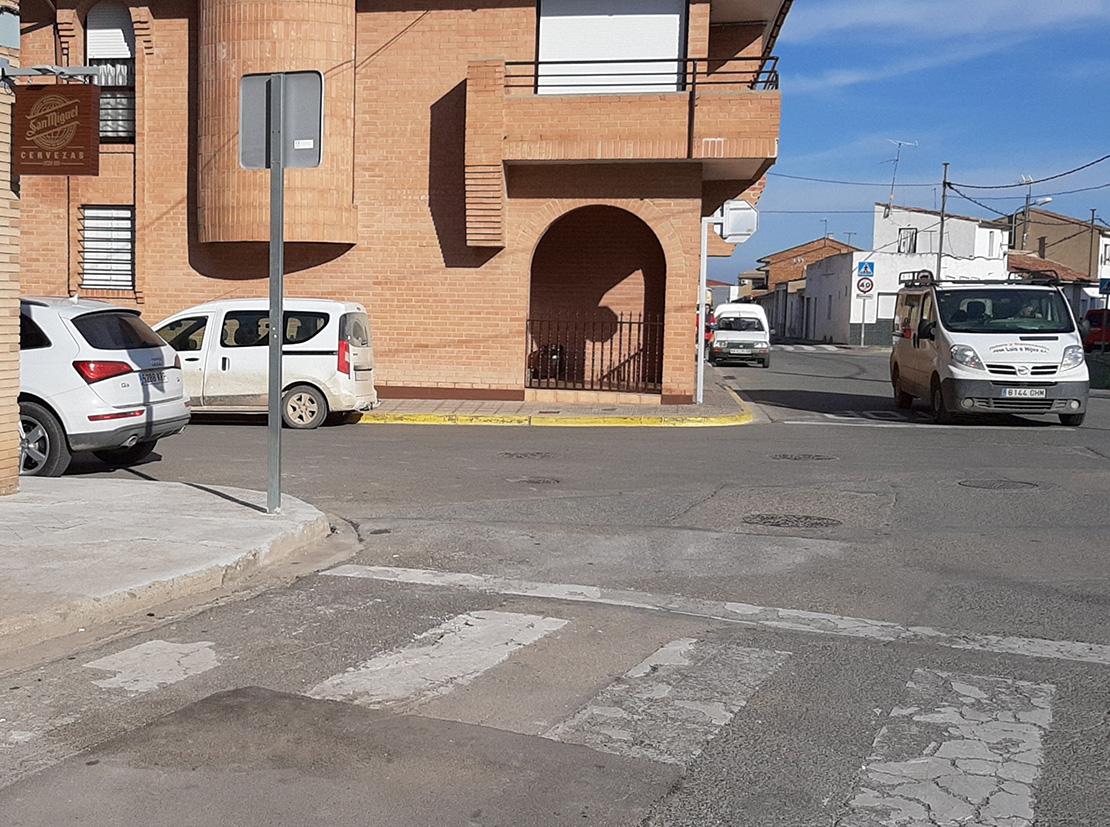Accesibilidad en Avenida Barillas, Avenida de Tudela y c/Escuelas