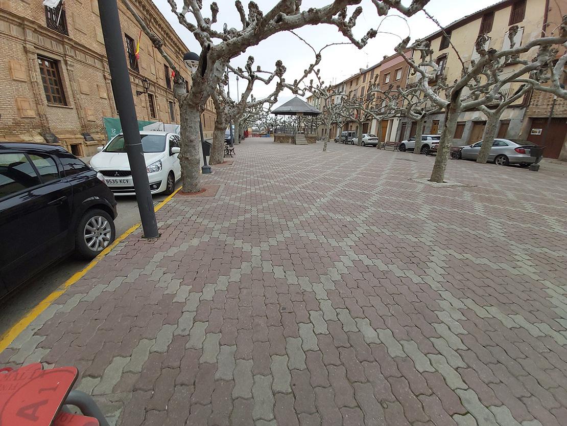 Peatonalización eliminación barreras paseo San Raimundo
