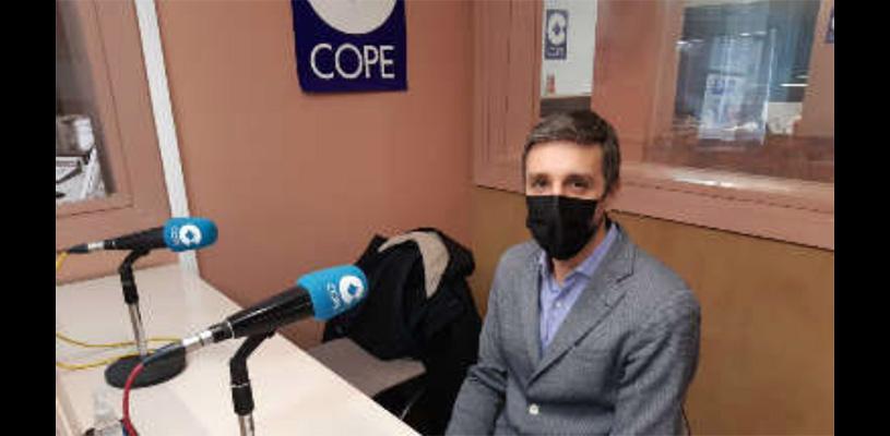"""Sergio Villava nos habla en """"La mañana de Cope Ribera"""" de su presente y futuro como gerente en Consorcio EDER"""