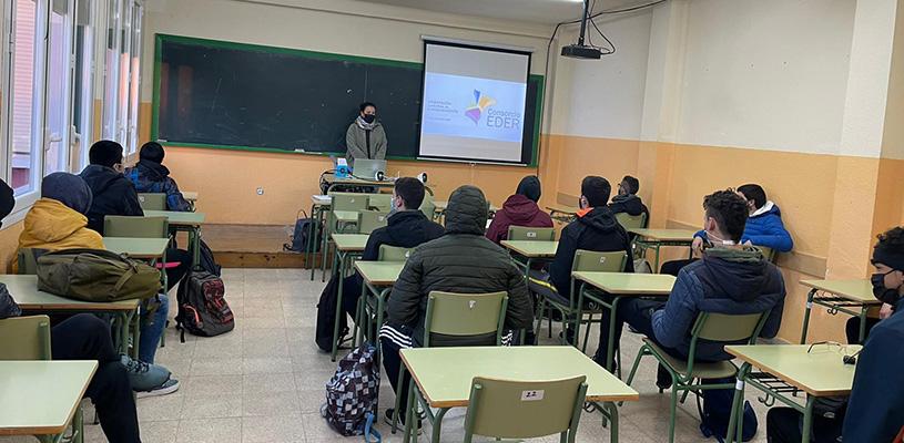 Arrancan los talleres  para estudiantes impartidos por Consorcio EDER en la Ribera de Navarra