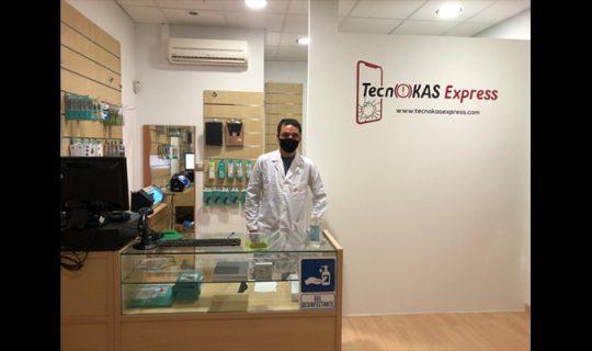 Tecnokas Express, reparación de dispositivos electrónicos en Corella
