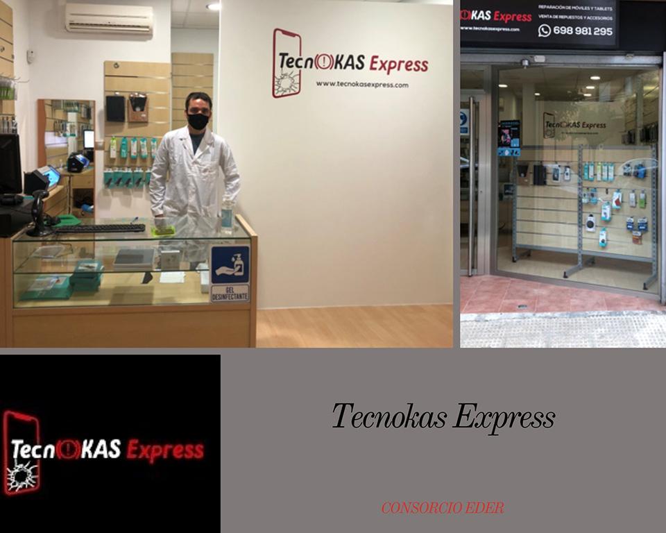 Tecnokass Express en Corella