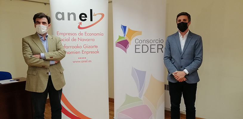 El Consorcio EDER y ANEL trabajarán conjuntamente para la promoción del emprendimiento y la economía social