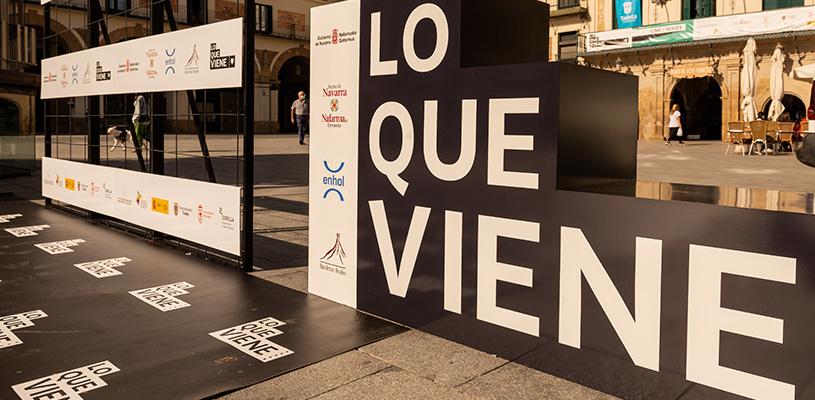 LO QUE VIENE 2021 se celebrará en la Ribera Navarra los días 12, 13 y 14 de mayo