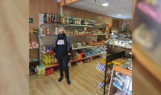 Tienda DARI, productos de alimentación típicos de Bulgaria y Rumanía en Cortes