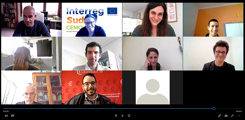 Celebrada online la 7ª reunión de coordinación de socios del Proyecto @Cemowas2