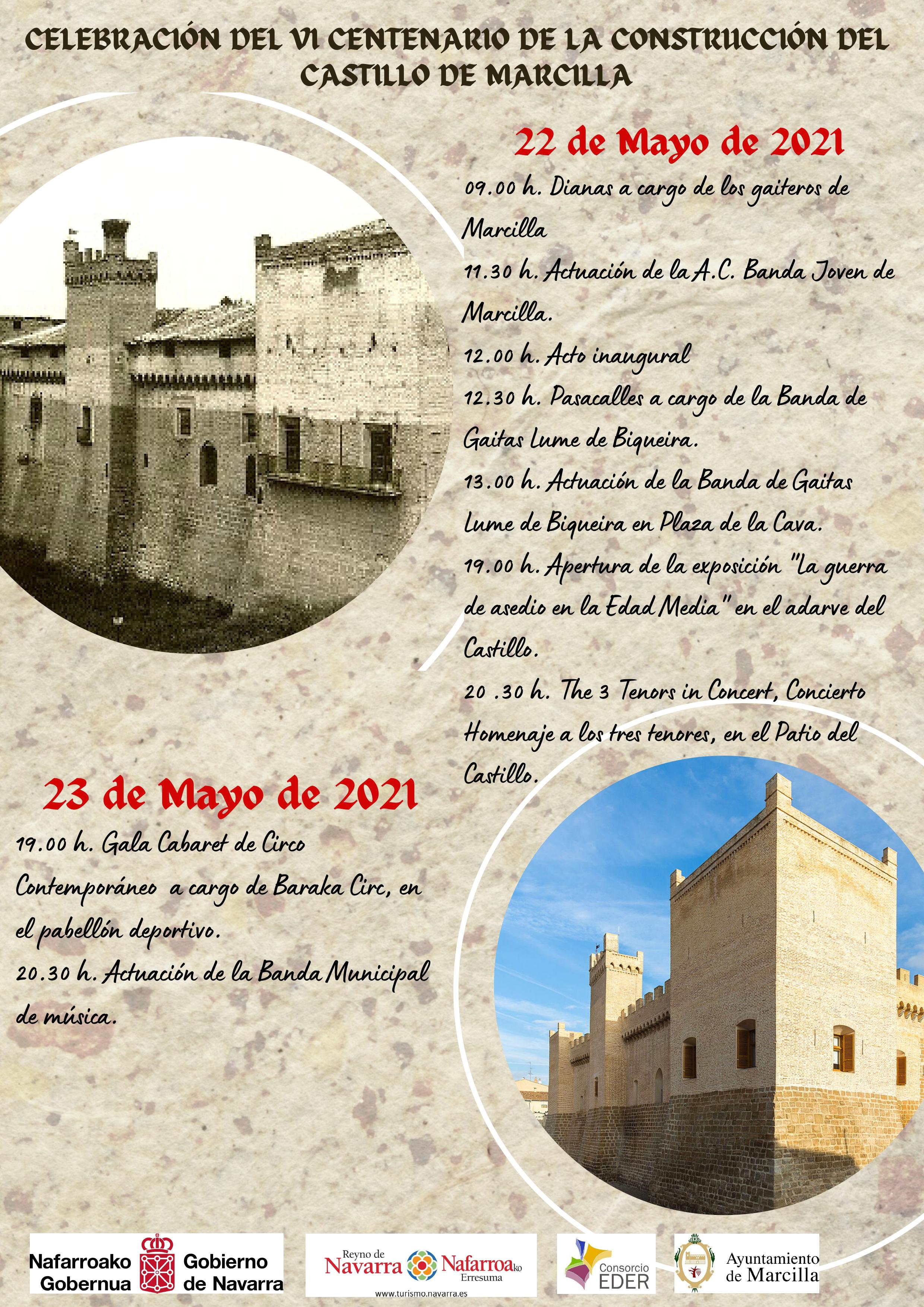 Celebracion VI Centenario Castillo Marcilla