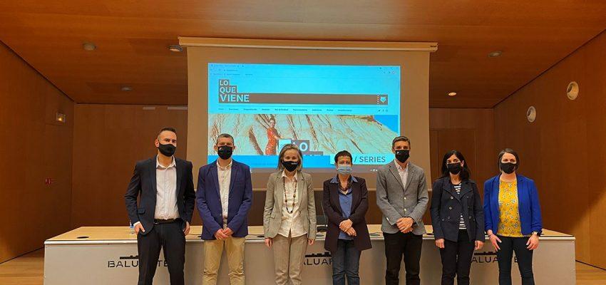 Presentación en Pamplona del programa definitivo de la 4ª edición del certamen LQV21