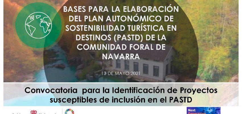 Convocatoria para la identificación de Proyectos susceptibles de inclusión en el PASTD