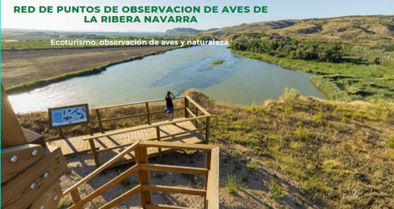 Consorcio EDER presenta en FITUR la Red de Observatorios de Aves de la Ribera