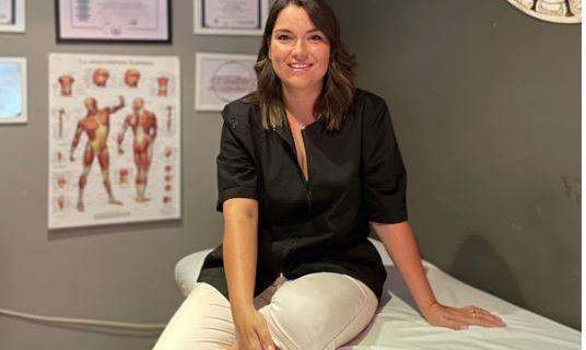 Jessica ha abierto un centro de masajes, Reiki y meditación en Villafranca