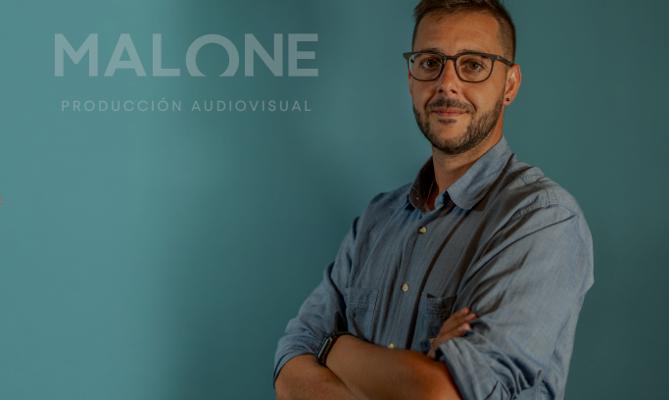 """Felipe ha creado """"Malone Producción Audiovisual"""", una empresa dedicada a la producción audiovisual"""