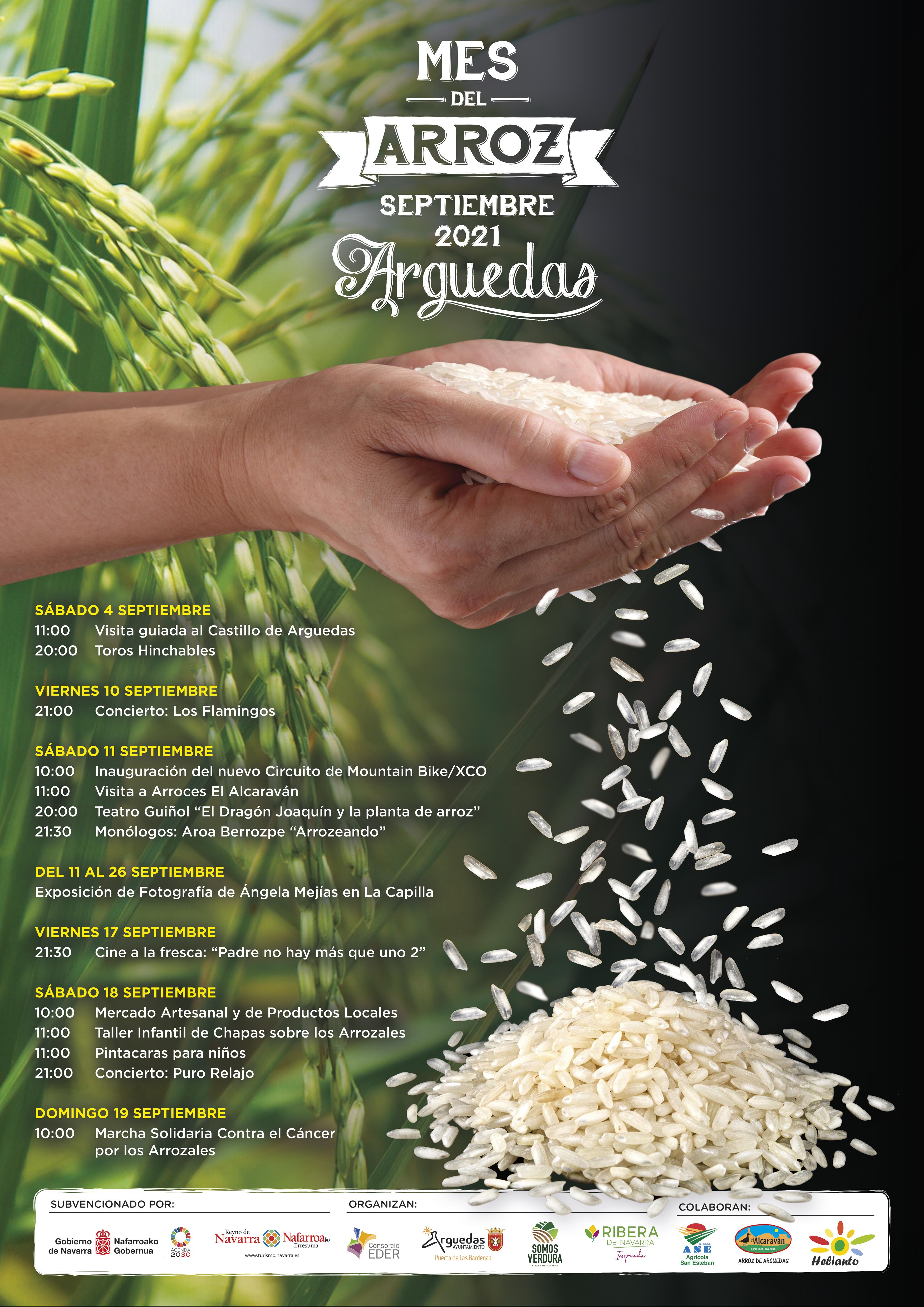 Mes arroz Arguedas