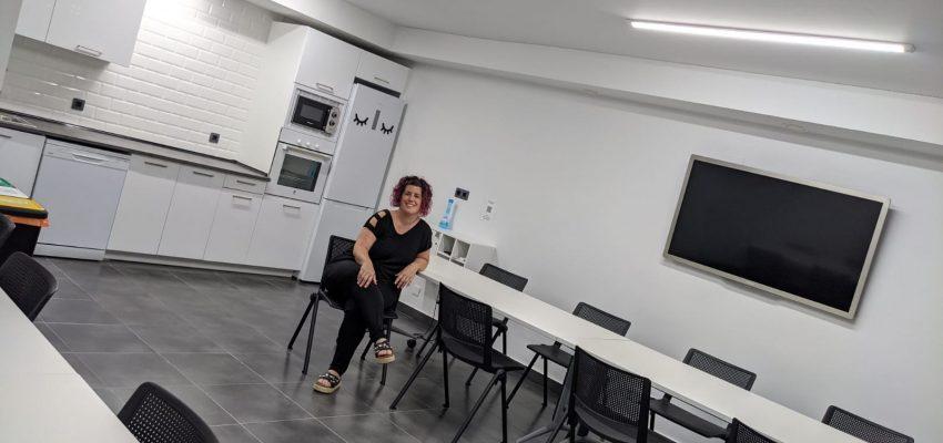 Nekane ha abierto un espacio multifuncional en Tudela
