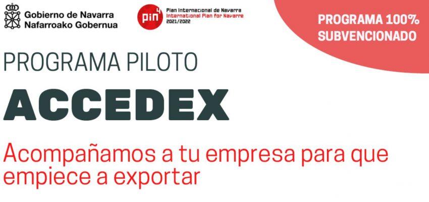 Jornada de presentación del nuevo Programa ACCEDEX