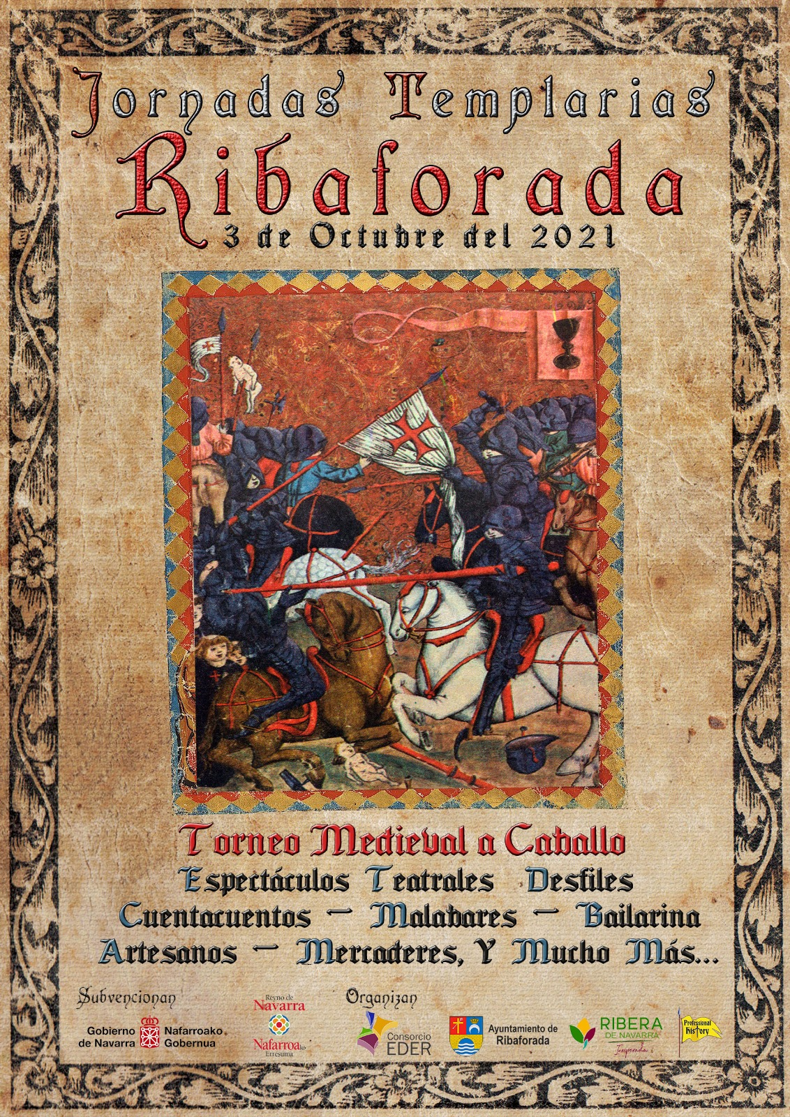 Jornadas Templarias Ribaforada